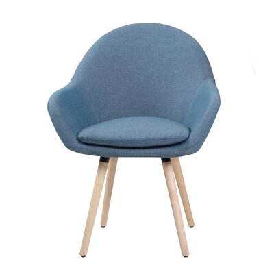 Cath Armchair Upholstery : Blue