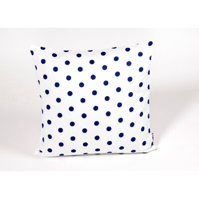 Polka Dots Kid Cotton Throw Pillow