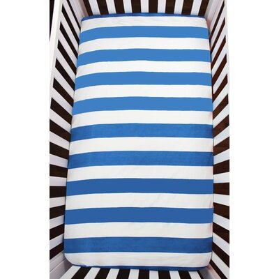 Stripes Organic Fitted Crib Sheet