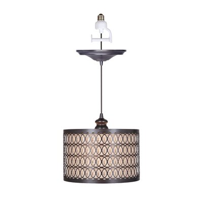 Boden 1-Light Drum Pendant