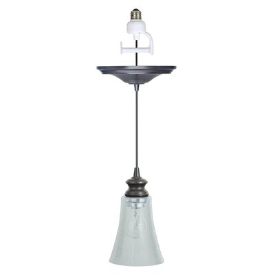 Boden Contemporary 1-Light Brushed Bronze Mini Pendant