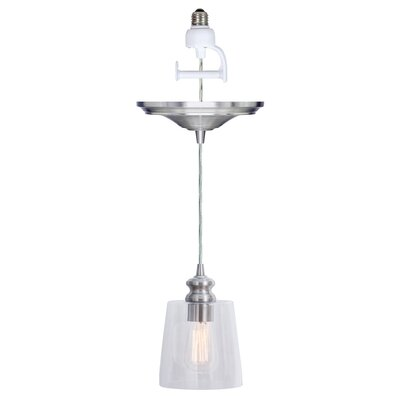Boden 1-Light Clear Shape Mini Pendant