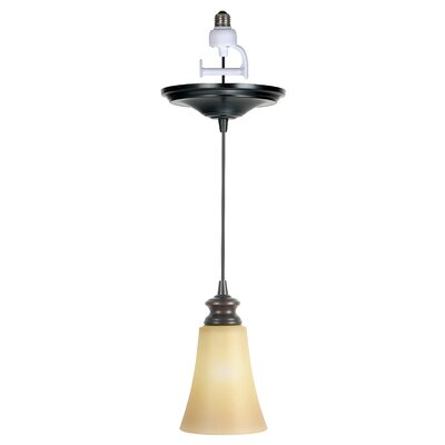 Boden 1-Light Brushed Bronze Mini Pendant