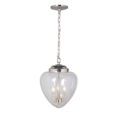 Hardwired 3-Light Foyer Pendant
