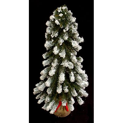2' Downswept Flocked Artificial Christmas Tree