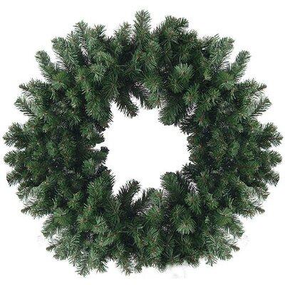 "Artificial Christmas Wreath Size: 36"" H x 36"" W"