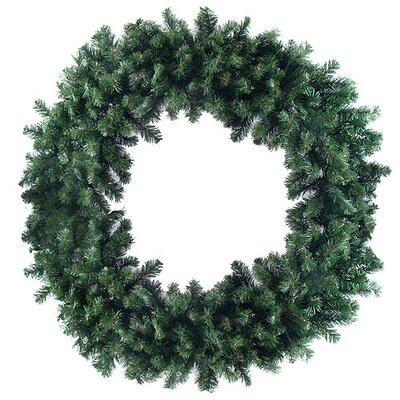 "Artificial Christmas Wreath Size: 48"" H x 48"" W"