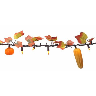 Mini Halloween Fall Harvest Light with Pumpkin (Pack of 50)
