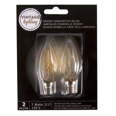 7W E17 Edison Light Bulb