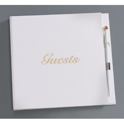Guest Book with Pen V35925