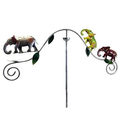 Windrad Elephant | Garten > Dekoration > Windräder | Grüngraueisen | SKStyle