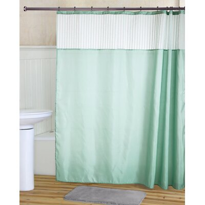 Ripley Shower Curtain Set Color: Aqua