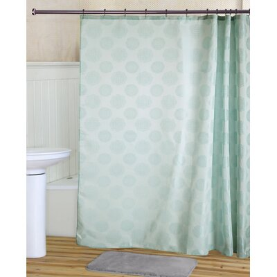 Tahara Shower Curtain Set Color: Aqua