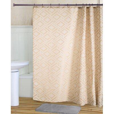 Tatum Shower Curtain Set Color: Bronze