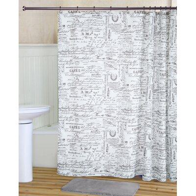 Parisian Shower Curtain Set