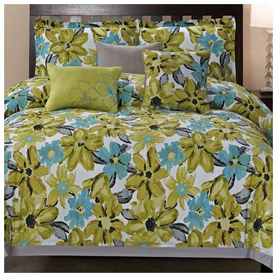 Somerset 6 Piece Comforter Set Size: King