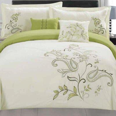 Jordana 5 Piece Comforter Set Size: King
