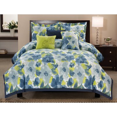 Greenwich 6 Piece Comforter Set Size: Queen