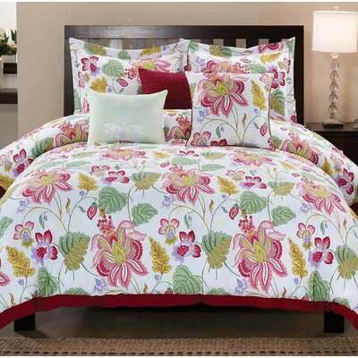 Westerly 6 Piece Comforter Set Size: King