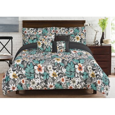 Bloomfield 6 Piece Comforter Set Size: Queen
