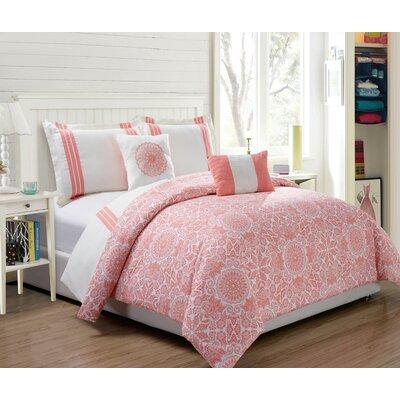 Finley 5 Piece Comforter Set Size: King