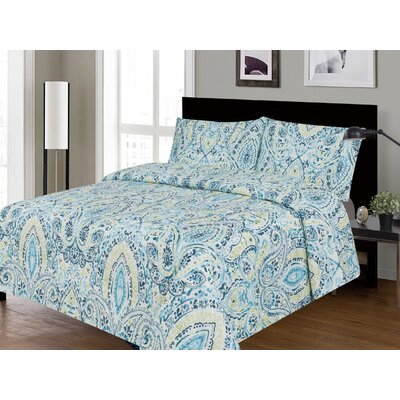 Bliss Printed Sheet Set Size: Queen