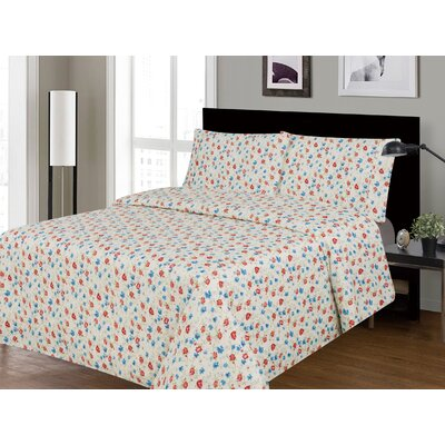 Serene Printed Sheet Set Size: Queen
