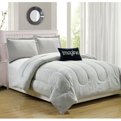 Babylon 4 Piece Comforter Set Size: Queen