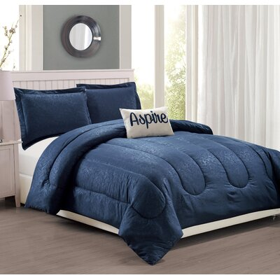 Babylon 4 Piece Comforter Set Size: King