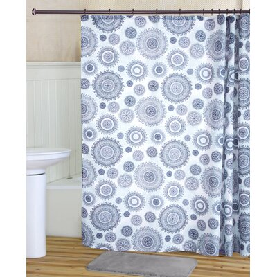 Lane Printed Canvas Shower Curtain