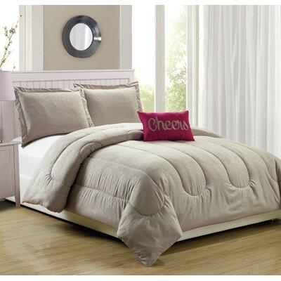Babylon 4 Piece Comforter Set Size: King