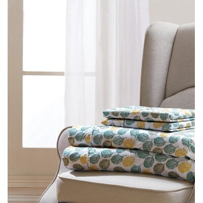 Bayville Fern Sheet Set Size: Queen