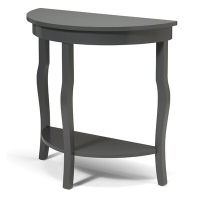 Lillian Console Table Color: Gray