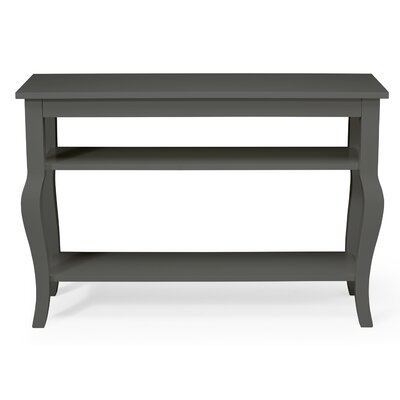 Lillian Console Table Finish: Satin Gray