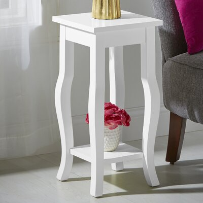 Danby End Table Color: White