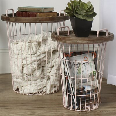 Tenby End Table Finish: Pink