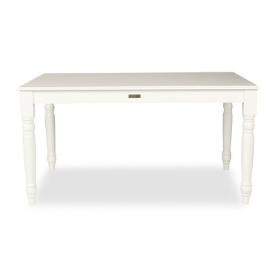 Egidio Dining Table Finish: True White