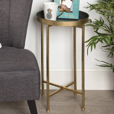 Blessen End Table Finish: Gray