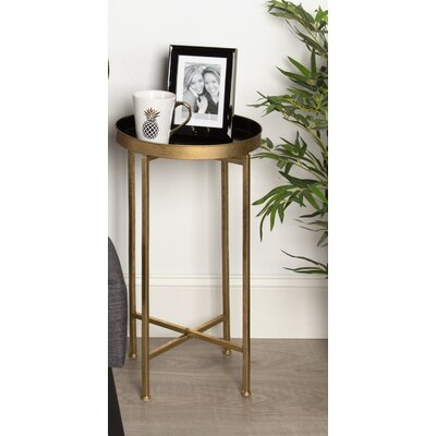Blessen End Table Finish: Black