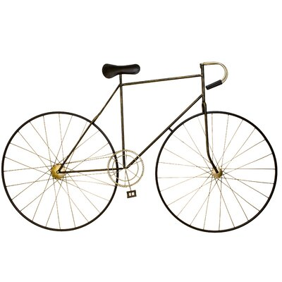Large Metal Bicycle Wall Décor