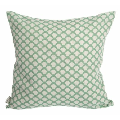 Sarahs Roof Cushion Cover Upholstery: Frosty Green