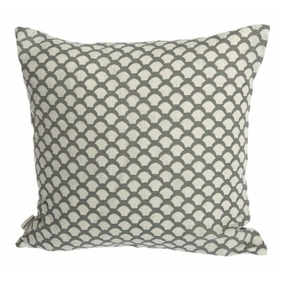 Sarahs Roof Cushion Cover Upholstery: Neutral Gray