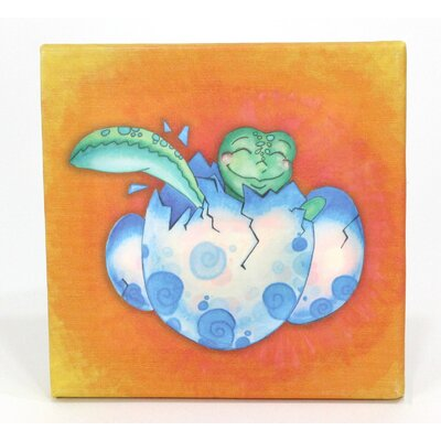 Growing Kids Sea Turtle Journey Hatchling Painting Print On Wrapped Canvas Set