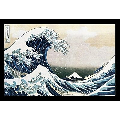 'The Great Wave of Kanagawa 1830' Framed Print