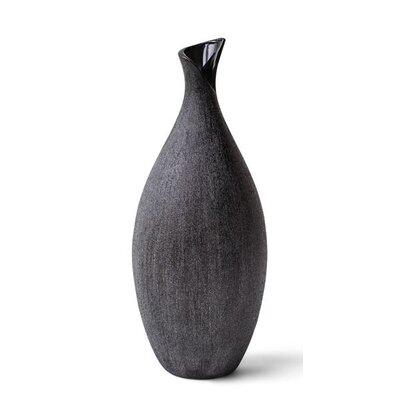 """Obsidia Vase Size: 16.5"""" H x 6.5"""" W x 6.5"""" D 70425"""