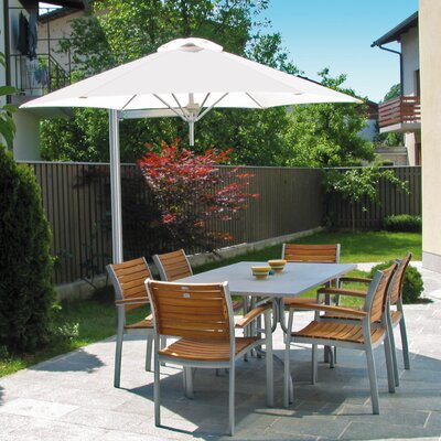 9 Paraflex Cantilever Umbrella Fabric: Texsilk Olefin - Alba