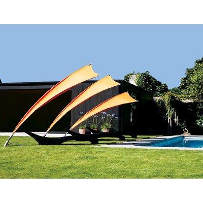 5 Rimbou Cantilever Umbrella Fabric: Sunbrella Acrylic - Tuscan