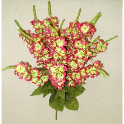 Artificial Stock Flowers Bush Color: Velvet/Green