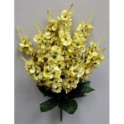 Artificial Stock Flowers Bush Color: Butter