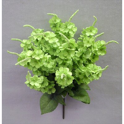 Artificial Stock Flowers Bush Color: Mint Green